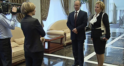 Other than that, Mrs. Putin, how did you enjoy the ballet?