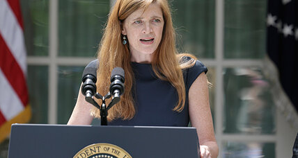 Samantha Power at UN evokes 'Camelot' and may be 'friend of Israel'