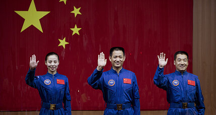 With next manned mission, China edges closer to space station