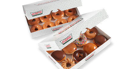 Krispy Kreme Sloppy Joe? Not ours, says doughnut chain.