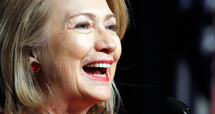 Did Hillary Clinton just drop a presidential hint on Twitter?