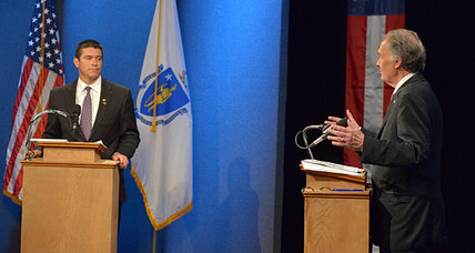 Massachusetts Senate race Debate 2: Gomez plays the 'independent' card (+video)