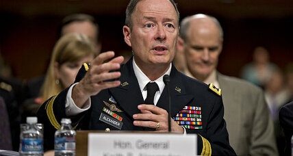 NSA chief: 'We're trying to be transparent'