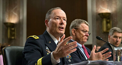NSA surveillance foiled 'dozens' of terror plots, agency chief says (+video)