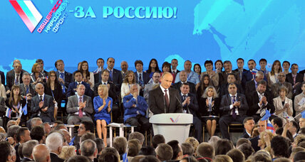 Taking page from East Germany, Putin launches new 'Popular Front'