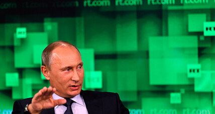 US-bashing TV station gives interview to its benefactor, Vladimir Putin
