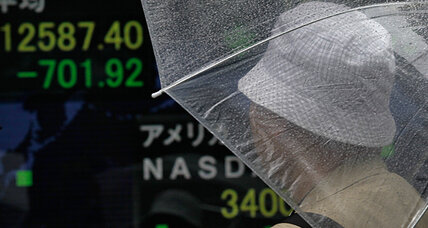 Dow up, Nikkei down: Days of market volatility put focus on central banks