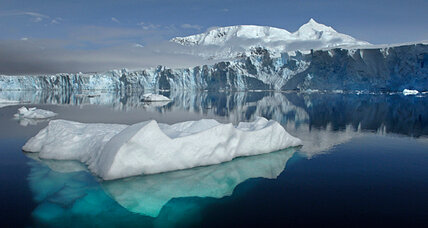 Antarctic ice melting from below, finds study
