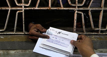 India to end state-run telegram service. Stop.