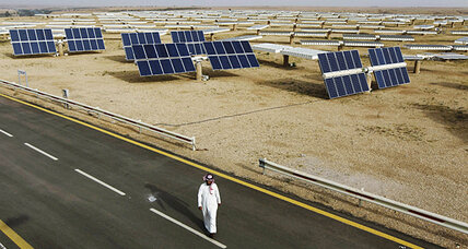 Solar power shines in oil-rich Saudi Arabia
