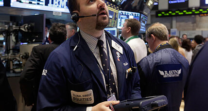 Stocks fall on disappointing economic reports