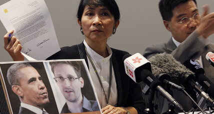 Hong Kong's pro-democracy activists rally around Snowden