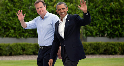 Obama arrives for tough G8 summit in Northern Ireland
