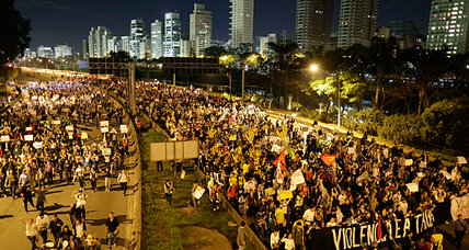 Brazilians stage largest protests in 20 years, bearing a multitude of complaints