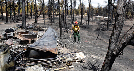 Why Colorado's Black Forest wildfire is now being called a crime scene