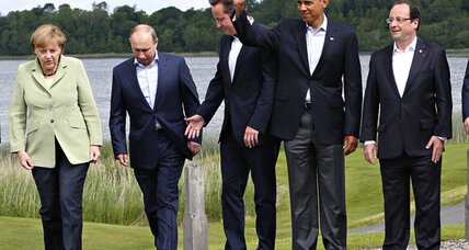 G8 wraps with progress on tax evasion - but not on Syria