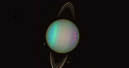 What's that thing in Uranus's orbit – and how did it get there?