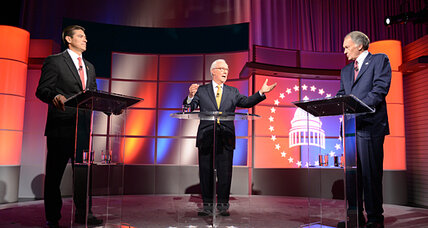 In last Gomez-Markey debate, distinct styles but fuzzy policy differences
