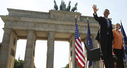 In return to Berlin, Obama finds a cooler Germany