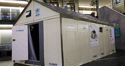 Why do we still put refugees in tents? IKEA has a new idea.