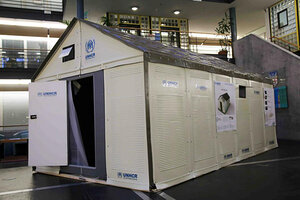 The Refugee Housing Unit designed by Ikea provides significantly higher living comfort and safety compared to emergency tents. The spatial volume is more ... & Why do we still put refugees in tents? IKEA has a new idea ...