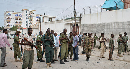 Al Qaeda-allied suicide team blasts UN compound in Mogadishu