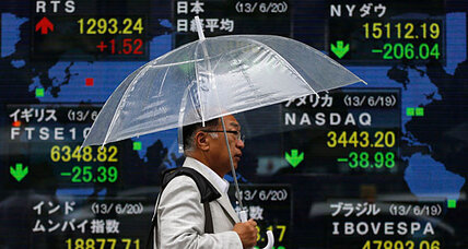 Stock markets shudder at prospect of 'easy money era' ending
