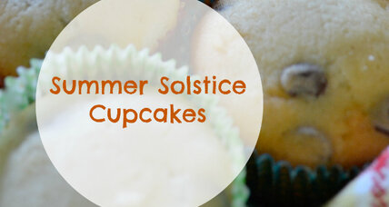 The Summer Solstice is tomorrow. Celebrate with these themed cupcakes