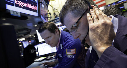 Stocks regain ground after biggest drop of the year