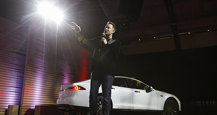 Tesla: It's faster to 'recharge' electric car than pump gas
