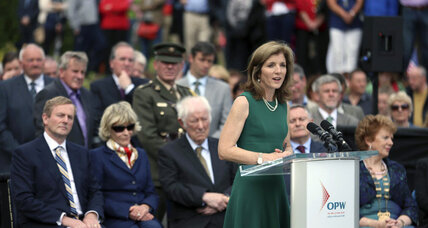 Caroline Kennedy and Kennedy clan celebrate JFK anniversary with Irish