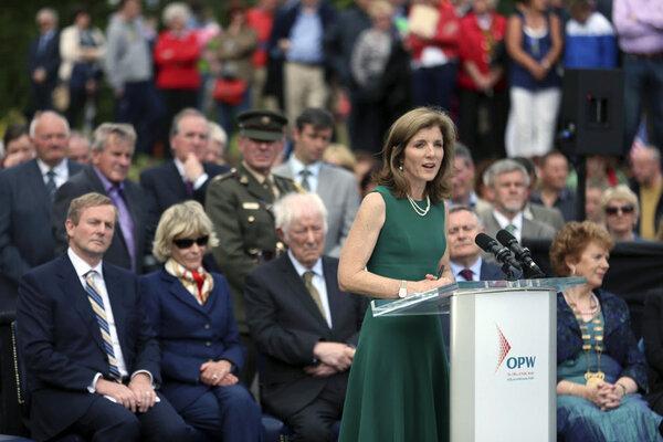 Caroline Kennedy And Kennedy Clan Celebrate Jfk