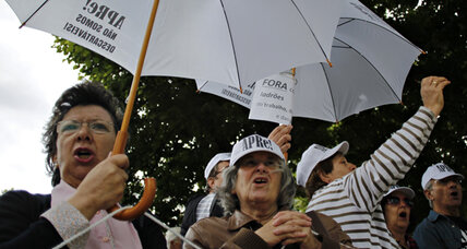 An AARP for Portugal? Seniors rally as pensions under pressure.