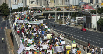 Brazil protesters: Is common ground really necessary?