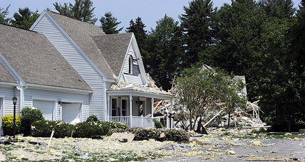 Yarmouth Maine explosion linked to propane gas