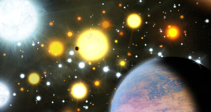 Galactic miracle babies? Smallish planets survived birth in stellar maelstrom.