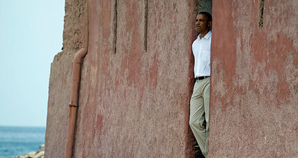 Goree Island: Obama visits site of transatlantic slave trade