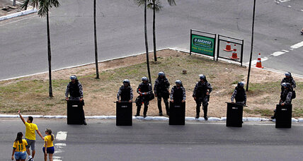 World Cup drill? Brazil targets border security - all 10,000 miles of it.