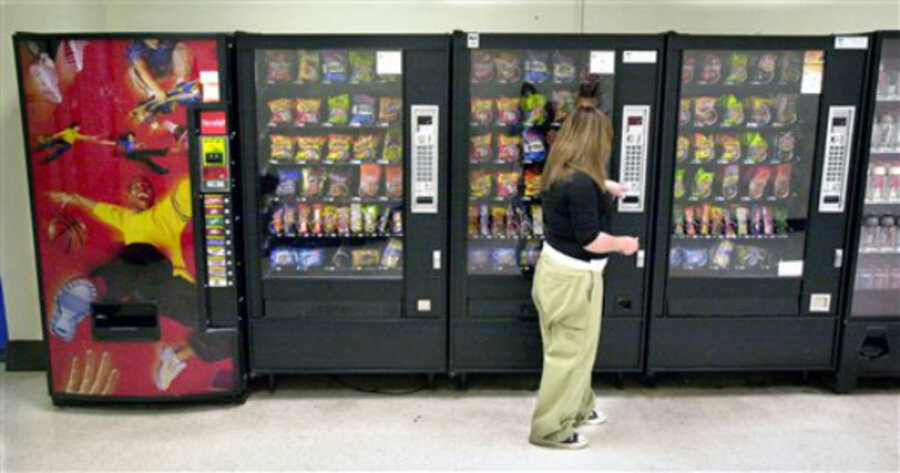 should junk food be banned from public schools