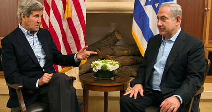 Israel greets Kerry with settlement declaration. Could that signal progress?