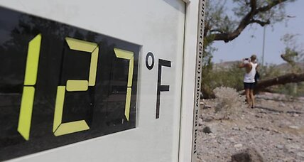 How hot is the heat wave? Very, very hot