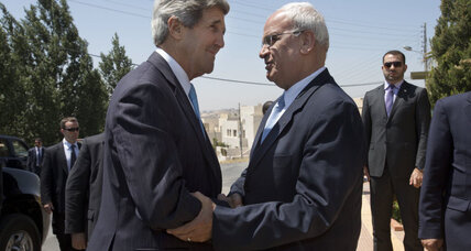 Kerry bounces between Israel, Palestine, pushing for peace at breakneck pace