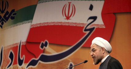 Iran's Rouhani pledges an inclusive cabinet, moderate government
