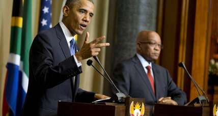 Obama calls Nelson Mandela 'one of the greatest people in history'