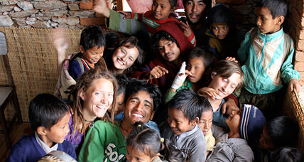 US college student Surya Karki builds schools back home in Nepal