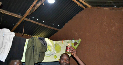Solar kits bring clean light to Kenya's poor