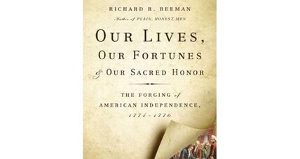 Reader recommendation: Our Lives, Our Fortunes & Our Sacred Honor