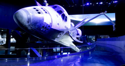 A space shuttle's final mission: Atlantis opens to the public