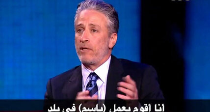 Jon Stewart in Cairo isn't just about laughs (+video)