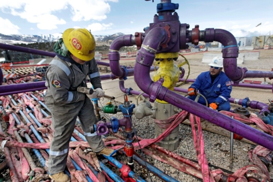 Methane leaks of shale gas may undermine its climate benefits